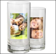 trinkglas mit foto selbst gestalten foto trinkglas mit eigenen bildern erstellen und verschenken. Black Bedroom Furniture Sets. Home Design Ideas
